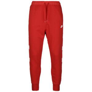 NSW Hybrid Jogginghose Herren, rot / weiß, zoom bei OUTFITTER Online