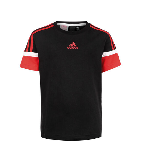 Bold T-Shirt Kinder, schwarz / rot, zoom bei OUTFITTER Online