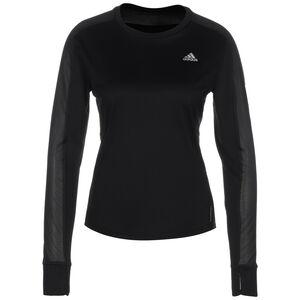 Own the Run Lauflongsleeve Damen, schwarz, zoom bei OUTFITTER Online