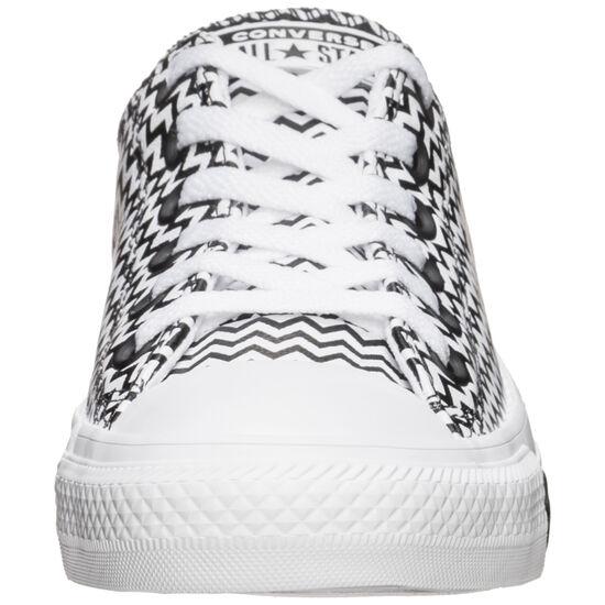 Chuck Taylor All Star OX Sneaker Damen, weiß / schwarz, zoom bei OUTFITTER Online