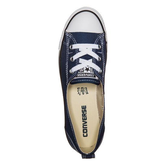 Chuck Taylor All Star Ballet Lace OX Sneaker Damen, Blau, zoom bei OUTFITTER Online