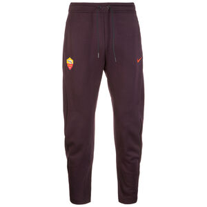 AS Rom Tech Fleece Trainingshose Herren, bordeaux / orange, zoom bei OUTFITTER Online