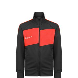 Academy Trainingsjacke Kinder, anthrazit / neonrot, zoom bei OUTFITTER Online