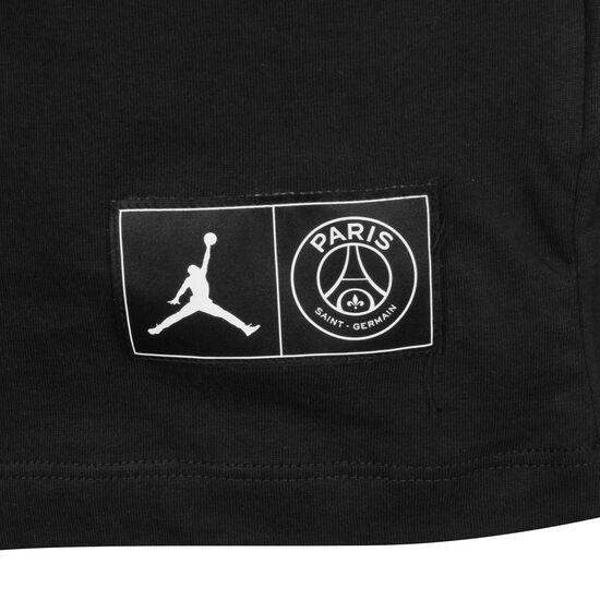 Paris St.-Germain Wordmark T-Shirt Herren, schwarz / weiß, zoom bei OUTFITTER Online