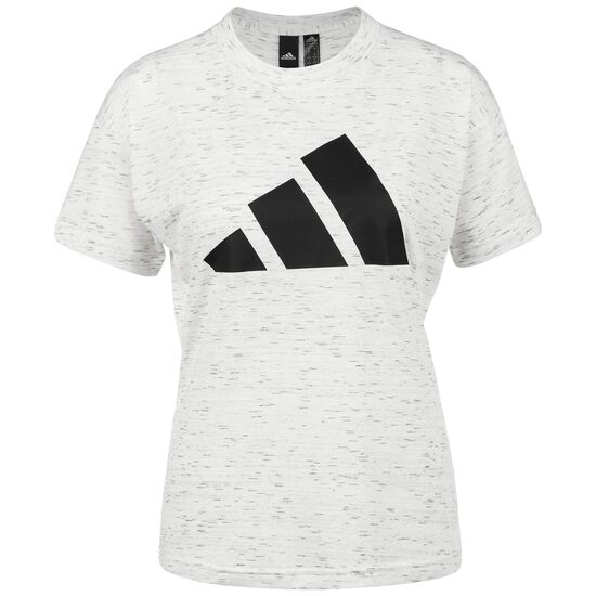 Winner 2.0 T-Shirt Damen, weiß / schwarz, zoom bei OUTFITTER Online