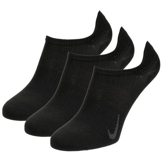 Everyday Plus Lightweight No-Show Socken 3er Pack, schwarz, zoom bei OUTFITTER Online