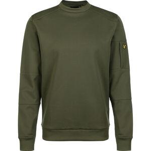 Pocket Sweatshirt Herren, oliv, zoom bei OUTFITTER Online