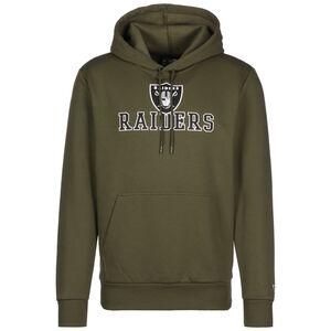 NFL Oakland Raiders Wordmark Kapuzenpullover Herren, oliv, zoom bei OUTFITTER Online