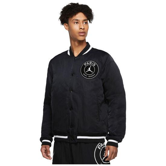 Paris St.-Germain Varsity Jacke Herren, schwarz / weiß, zoom bei OUTFITTER Online