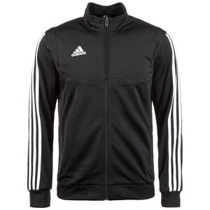 Tiro 19 Polyester Trainingsjacke Herren, schwarz / weiß, zoom bei OUTFITTER Online