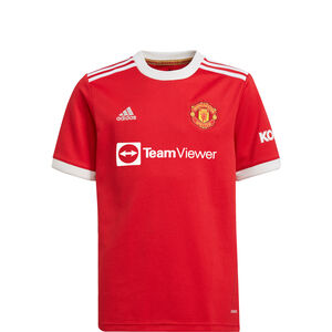 Manchester United Trikot Home 2021/2022 Kinder, rot / weiß, zoom bei OUTFITTER Online