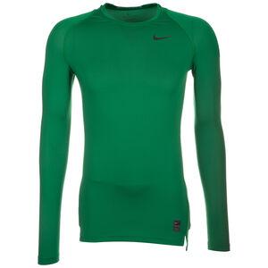 Pro Dry Compression Trainingsshirt Herren, grün / schwarz, zoom bei OUTFITTER Online