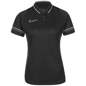 Academy 21 Dry Poloshirt Damen, schwarz / anthrazit, zoom bei OUTFITTER Online