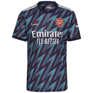 FC Arsenal Trikot 3rd 2021/2022 Herren, dunkelblau / weiß, zoom bei OUTFITTER Online