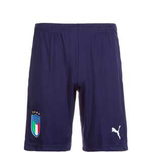 FIGC Italien Trainingsshort Kinder, Blau, zoom bei OUTFITTER Online