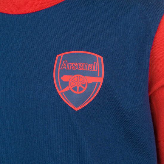 FC Arsenal Graphic T-Shirt Kinder, dunkelblau / rot, zoom bei OUTFITTER Online