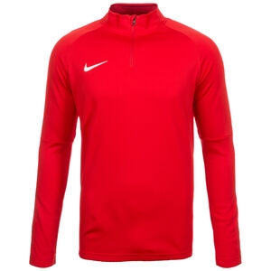 Dry Academy 18 Drill Longsleeve Herren, rot / weiß, zoom bei OUTFITTER Online