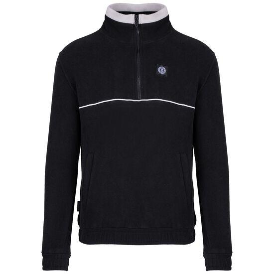 DMWU Patch Fleece Sweatshirt Herren, schwarz / hellgrau, zoom bei OUTFITTER Online