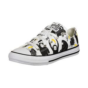 Chuck Taylor All Star Sneaker Kinder, weiß / schwarz, zoom bei OUTFITTER Online