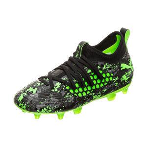 Future 19.3 NETFIT FG/AG Fußballschuh Kinder, schwarz / grün, zoom bei OUTFITTER Online