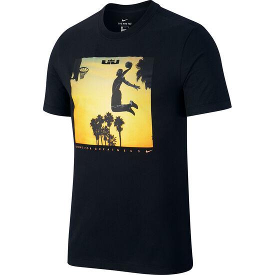 LeBron Dry Fly Basketballshirt Herren, schwarz, zoom bei OUTFITTER Online