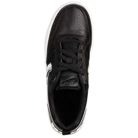 Court Borough Low Sneaker Kinder, schwarz / weiß, zoom bei OUTFITTER Online