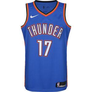Oklahoma City Thunder Schröder Swingman Basketballtrikot Herren, blau / rot, zoom bei OUTFITTER Online