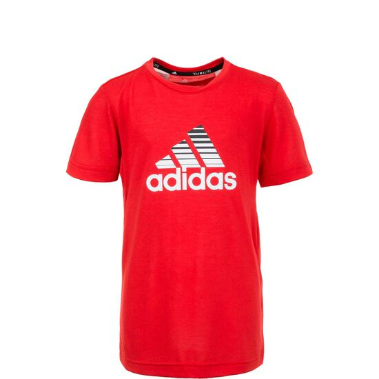 Prime Trainingsshirt Kinder, rot, zoom bei OUTFITTER Online
