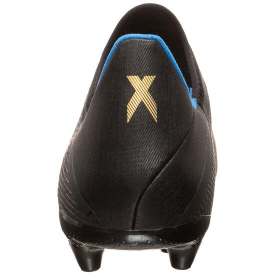 X 19.3 LL FG Fußballschuh Herren, schwarz / gold, zoom bei OUTFITTER Online