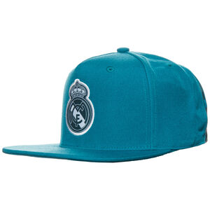 Real Madrid Flat Snapback Cap, Grün, zoom bei OUTFITTER Online