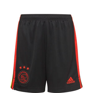 Ajax Amsterdam Shorts 3rd 2021/2022 Kinder, schwarz, zoom bei OUTFITTER Online