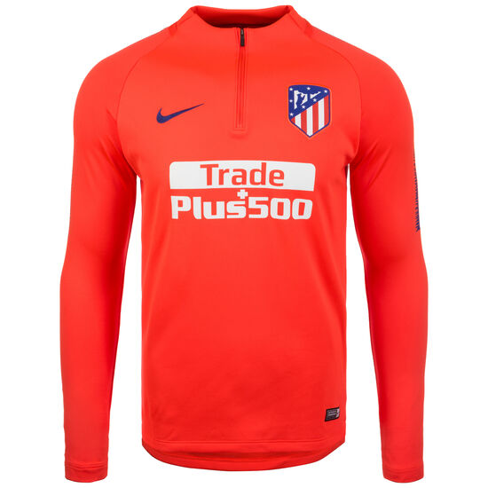 Atletico Madrid Dry Squad Longsleeve Herren, rot / blau, zoom bei OUTFITTER Online