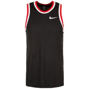 Dri-FIT Basketballtank Herren, schwarz / rot, zoom bei OUTFITTER Online