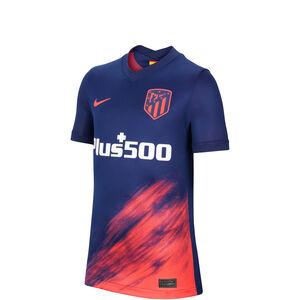 Atletico Madrid Trikot Away Stadium 2021/2022 Kinder, blau / korall, zoom bei OUTFITTER Online