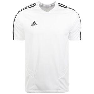 Tiro 19 Trainingsshirt Herren, weiß / schwarz, zoom bei OUTFITTER Online