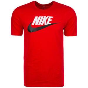 Futura Icon T-Shirt Herren, rot / schwarz / weiß, zoom bei OUTFITTER Online