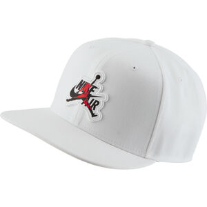Jordan Pro Classic Snapback Cap, weiß / schwarz, zoom bei OUTFITTER Online