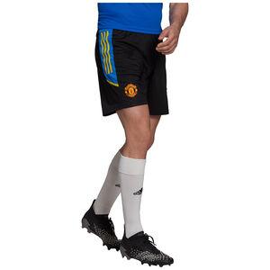 Manchester United Trainingsshorts Herren, schwarz / blau, zoom bei OUTFITTER Online