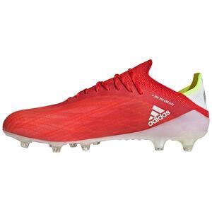 X Speedflow.1 AG Fußballschuh Herren, rot / weiß, zoom bei OUTFITTER Online
