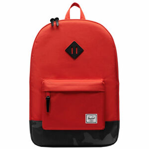 Heritage Rucksack, rot / blau, zoom bei OUTFITTER Online