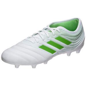 Copa Gloro 19.2 FG Fußballschuh Herren, weiß / hellgrün, zoom bei OUTFITTER Online