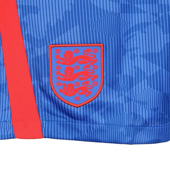 England Shorts Away Stadium EM 2021 Herren, blau / rot, zoom bei OUTFITTER Online