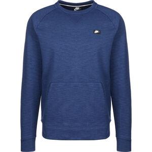 Optic Fleece Sweatshirt Herren, blau, zoom bei OUTFITTER Online