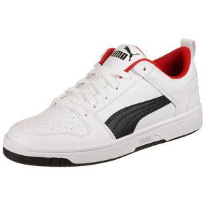 Rebound Lay Up Sneaker Herren, weiß / rot, zoom bei OUTFITTER Online