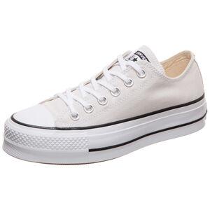 Chuck Taylor All Star Clean Lift OX Sneaker Damen, beige / weiß, zoom bei OUTFITTER Online