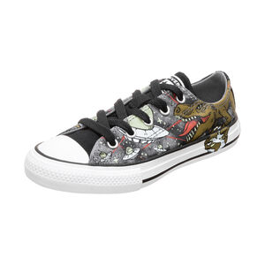 Chuck Taylor All Star OX Sneaker Kinder, grau / oliv, zoom bei OUTFITTER Online