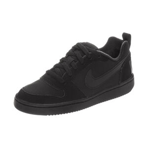 Court Borough Low Sneaker Kinder, Schwarz, zoom bei OUTFITTER Online