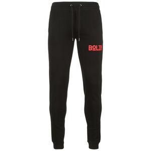 Jogginghose Herren, schwarz / rot, zoom bei OUTFITTER Online