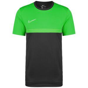Dry Academy Pro Trainingsshirt Herren, anthrazit / grün, zoom bei OUTFITTER Online