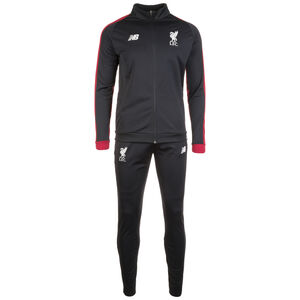 FC Liverpool Elite Trainingsanzug Herren, schwarz / rot, zoom bei OUTFITTER Online